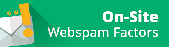 On Site Webspam
